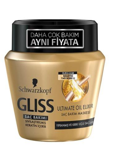 Gliss Glıss Saç Maskesi Ultimate Oil Elixir 300 Ml Renksiz